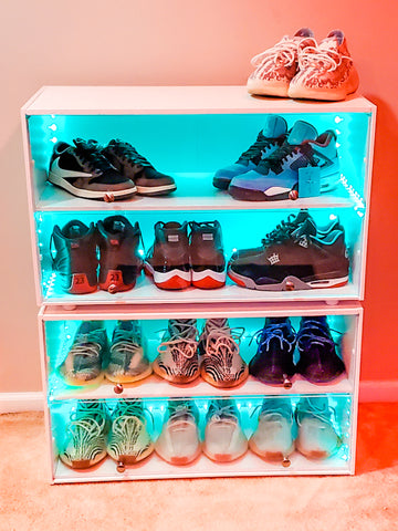 The Sneaker Throne - Premium sneaker display & storage