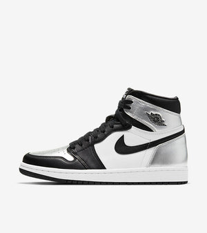 Air Jordan 1 Retro High OG Silver Toe