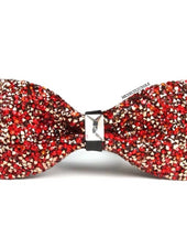 Red Bling Bling Bow Tie