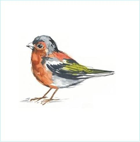 Chaffinch tile