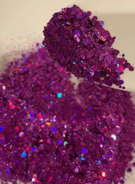 Fuchsia Dreams Mixed Glitter
