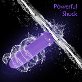 Mini pure silicone bullet bouncing egg adult sex toys strong motor female vibrator