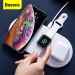 Baseus 3 in 1 Qi Wireless Charger