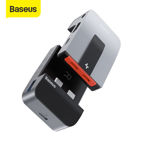 Baseus Armor Age Type-C Bracket Multifunctional HUB Adapter