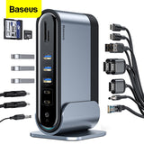 Baseus Working Station Multifunctional Type-C HUB Adapter