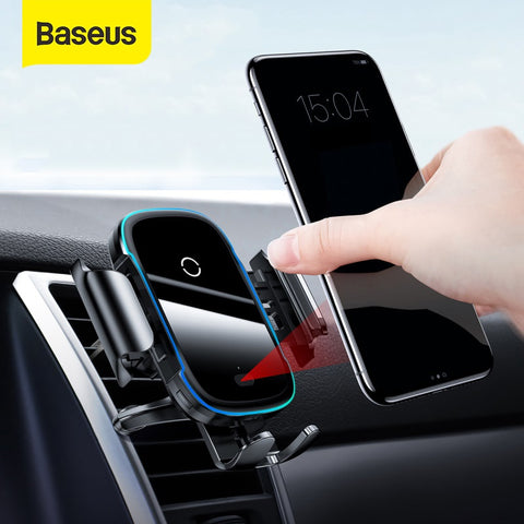 Baseus  Light Electric Holder Wireless Charger