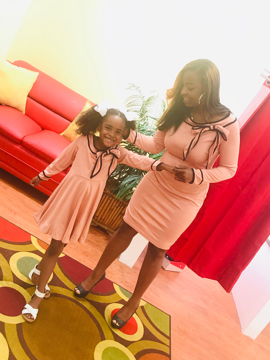Mommy and Me classy set