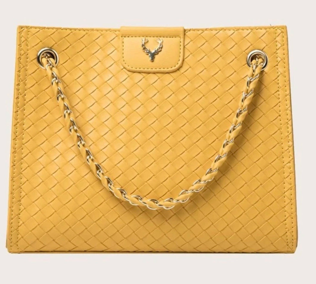 Braided Glamour Girl Tote