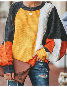 Forever lovely colorblock sweater