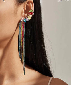 Beautiful Rhinestone Earrings