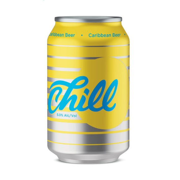 Chill 5.0% Beer Can 355 ML