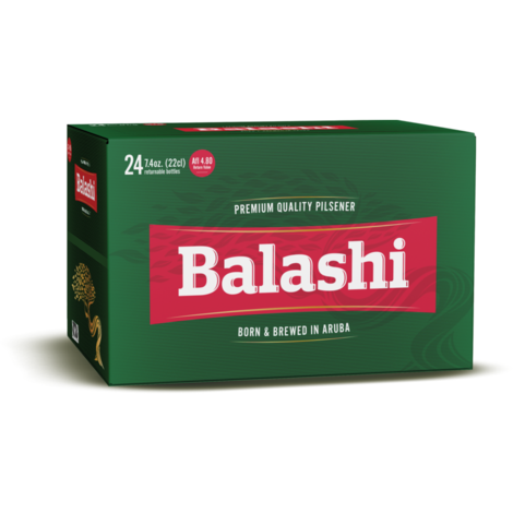 Balashi Beer Carton has 24 Bottles of 22cl