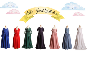 Introducing The Jewel Collection: Eva la Cúz Party Wear for Girls