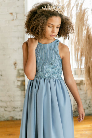 The Blue Topaz Dress