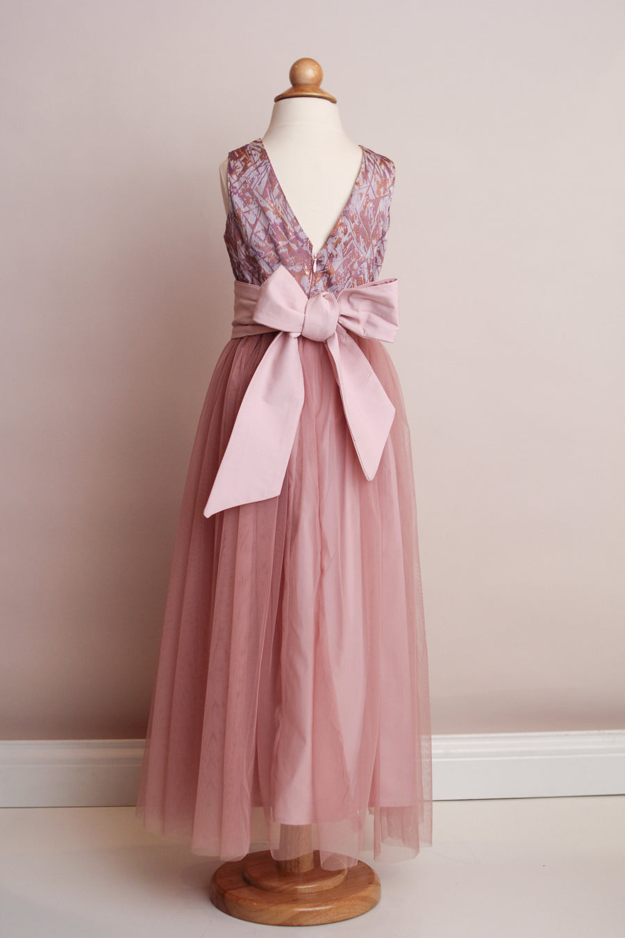 Sofia Blush Tulle Party Dress