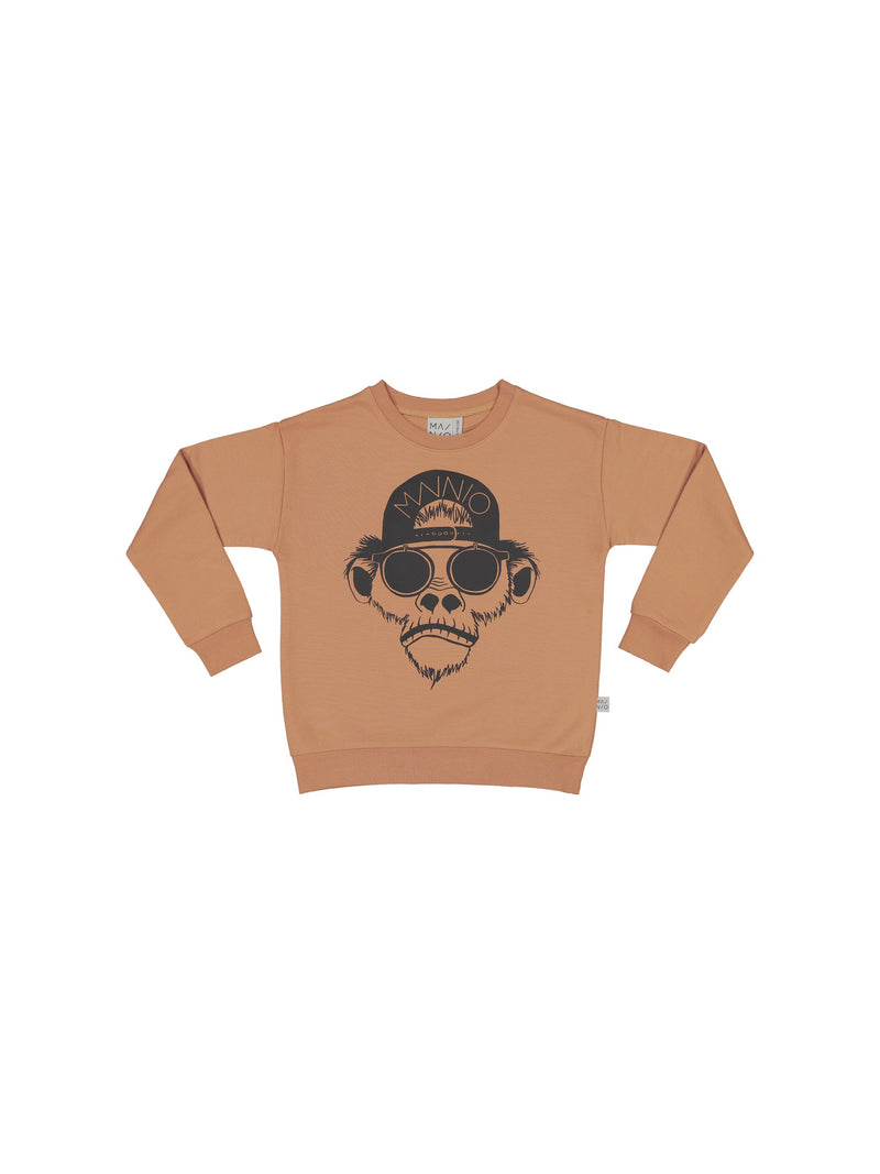 Chimp-collegepaita, dusty peach