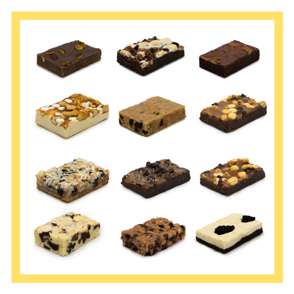 12 Brownie Bakery Box - Pick 4 Flavors