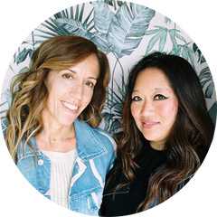 Co-Founder Monica Campana and Grace Saari