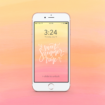 DOWNLOADS | JULY iPHONE WALLPAPERS