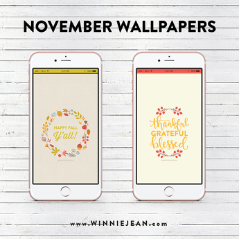DOWNLOADS | NOVEMBER iPHONE WALLPAPERS
