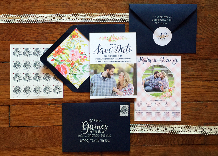 I'M GETTING MARRIED: OUR SAVE THE DATES