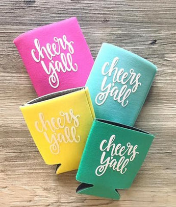 CHEERS Y'ALL KOOZIES