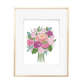 A BUNCH OF BLOOMS PRINTABLE ART