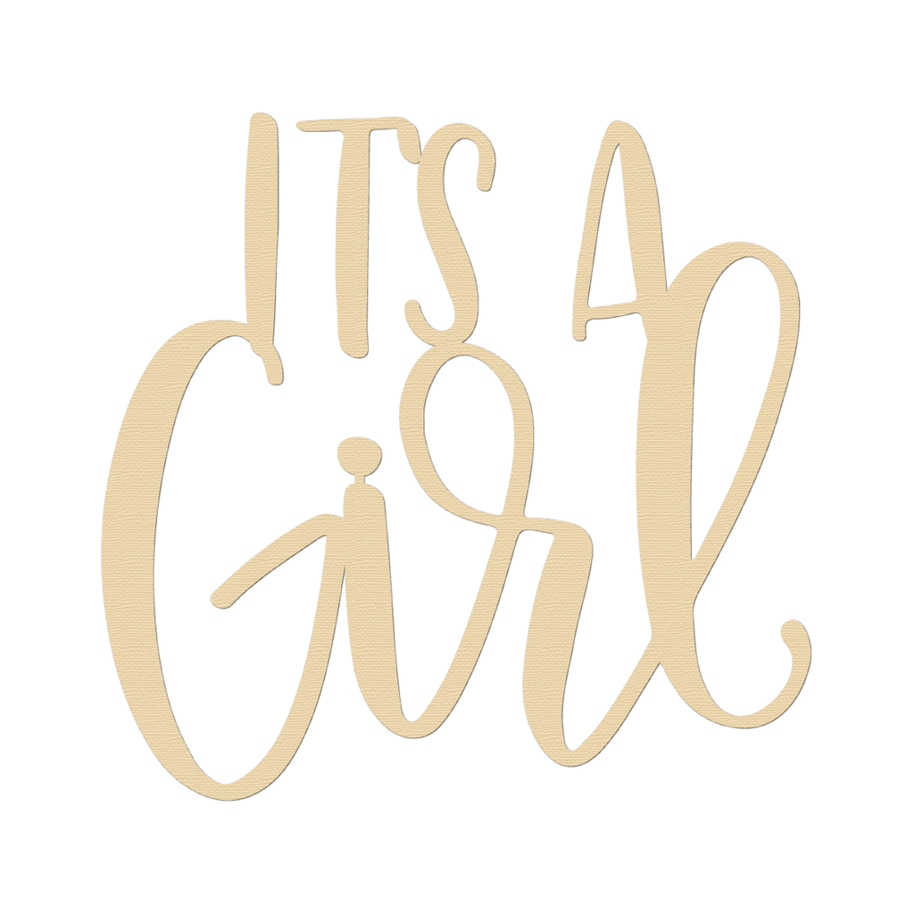 Home And Decor Blog It S A Girl Sign Winnie Jean