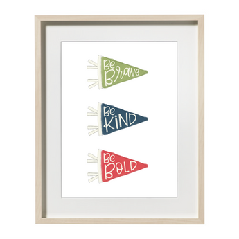 MANIFESTO PENNANTS PRINTABLE ART
