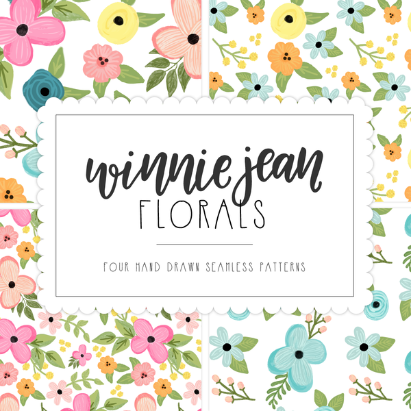 WINNIE JEAN FLORAL PATTERNS