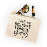 NATURAL BEAUTY COSMETIC BAG