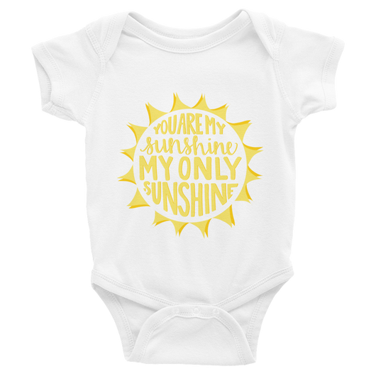 YOU ARE MY SUNSHINE ONESIE (6-24MO)