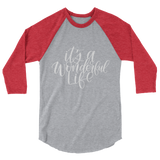 IT'S A WONDERFUL LIFE UNISEX RAGLAN