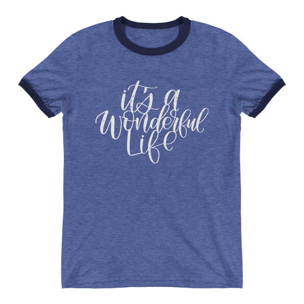 IT'S A WONDERFUL LIFE RINGER TEE