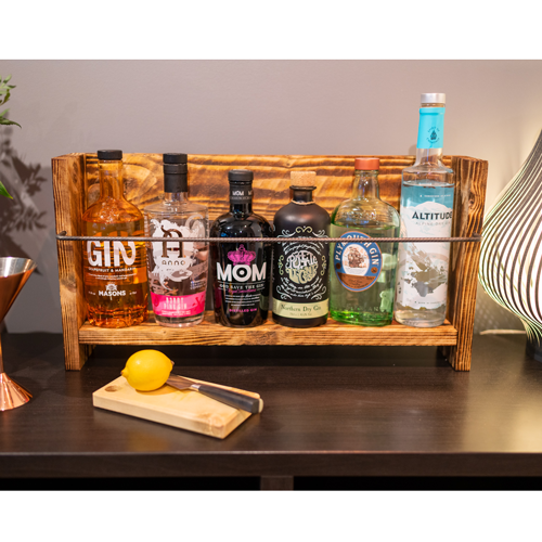 Freestanding Gin Shelf