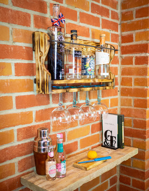 6 Bottle Gin Shelf