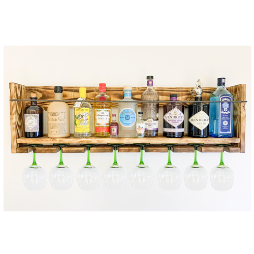 10 Bottle Gin Shelf