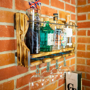 3 Bottle Gin Shelf