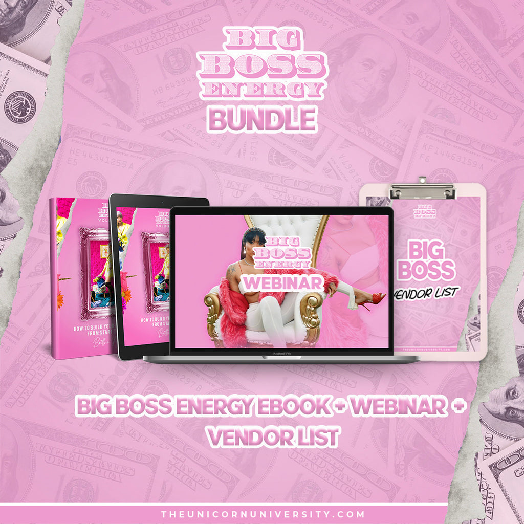 BUNDLE PACK: Vendor List+Big Boss Part 2 Ebook+ Big Boss Part 2 Recorded Webinar
