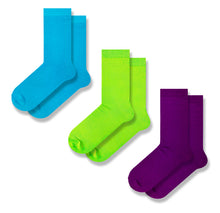 Load image into Gallery viewer, Pack of 3 Colourful Men's Socks
