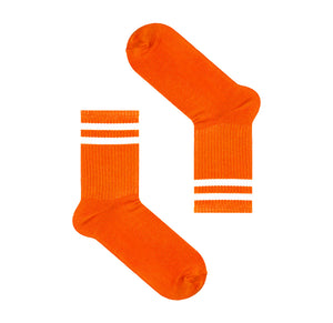 Orange Men's Socks