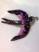 Load image into Gallery viewer, Swallow Brooch