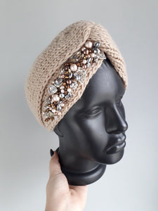 Winter Ear Warmers in Brown