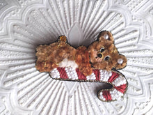 Load image into Gallery viewer, Teddy Bear Brooch