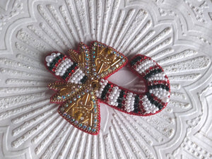 Candy Christmas Brooch