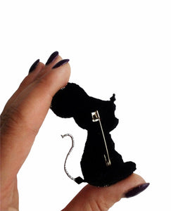 Mouse Brooch