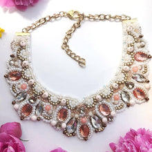 Load image into Gallery viewer, White Beaded Necklace