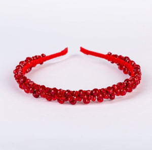 Red Thin Headband