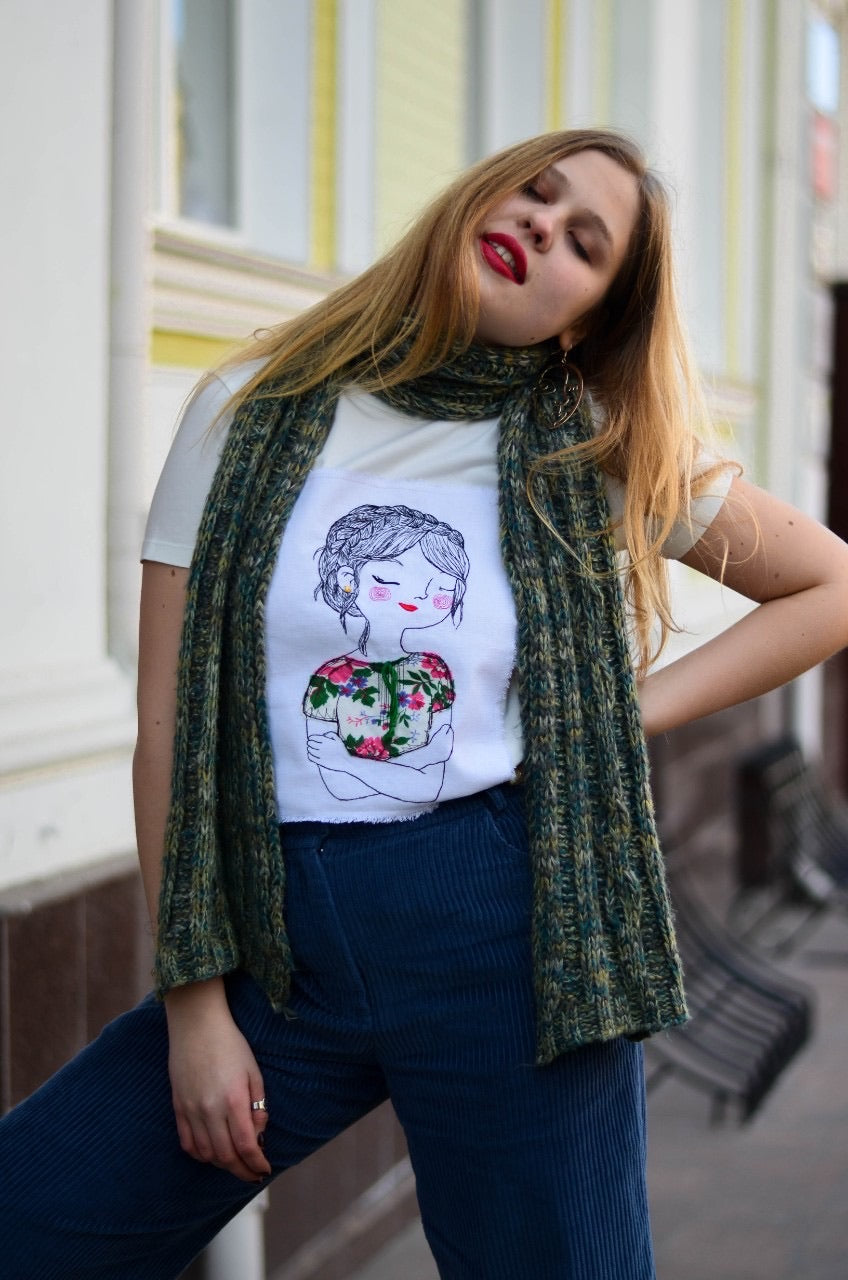 Tshirt Ukrainian Girl