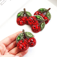Load image into Gallery viewer, Cherry Brooch